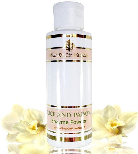 Rice and Papaya Enzyme Powder - Madagascar Vanilla