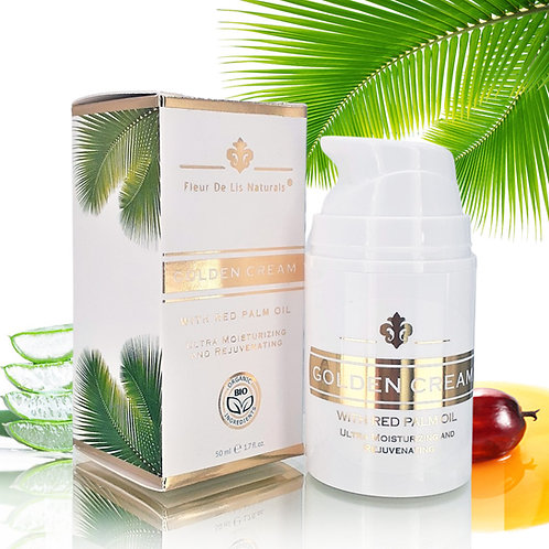 Golden Cream with Red Palm Oil