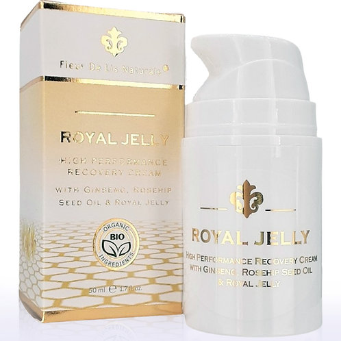Royal Jelly - All Natural High Performance Anti-Aging Face Moisturizer