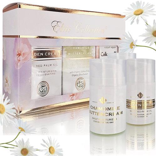 Gift Box - Chamomile Buttercream, Golden Cream, Collagen Cream