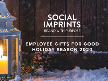 "Employee Gifts for ""Good"" Holiday Season 2020"