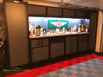 Installation Polydal et KS Tools concession automobile