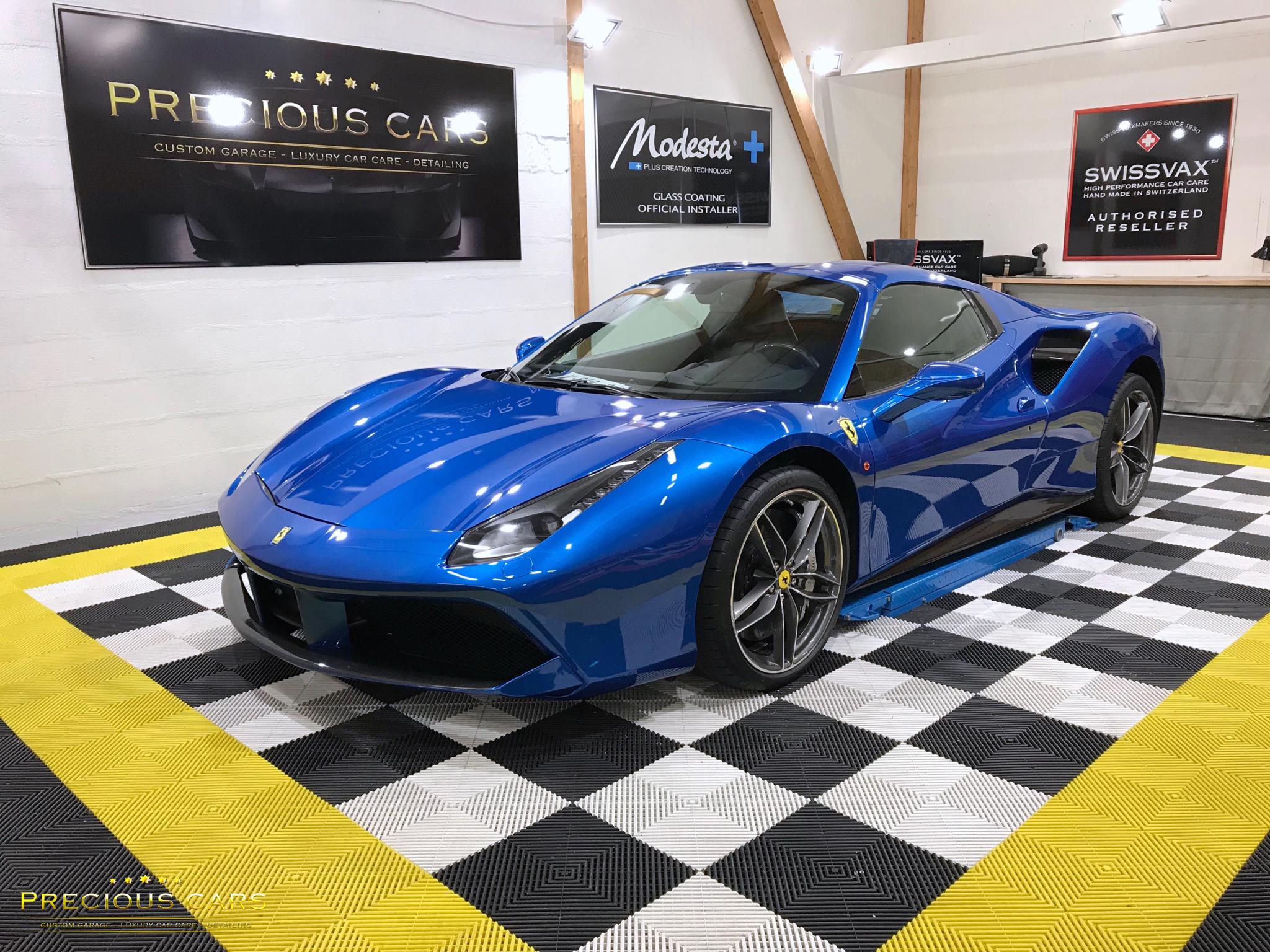 Precious Cars - Ferrari 488 Spider - Ble