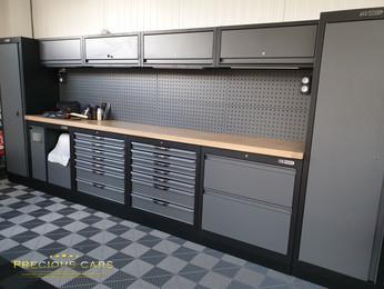 Livraison ensemble de mobilier complet KS Tools !
