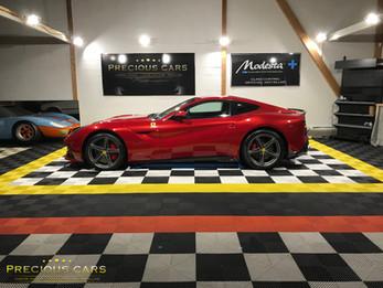 Ferrari F12 Rosso Berlinetta full Swissvax !