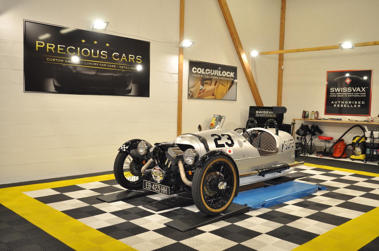 Swissvax Le Mans - Morgan ThreeWheel
