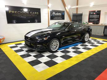Soin Swissvax complet Mustang 2017 !