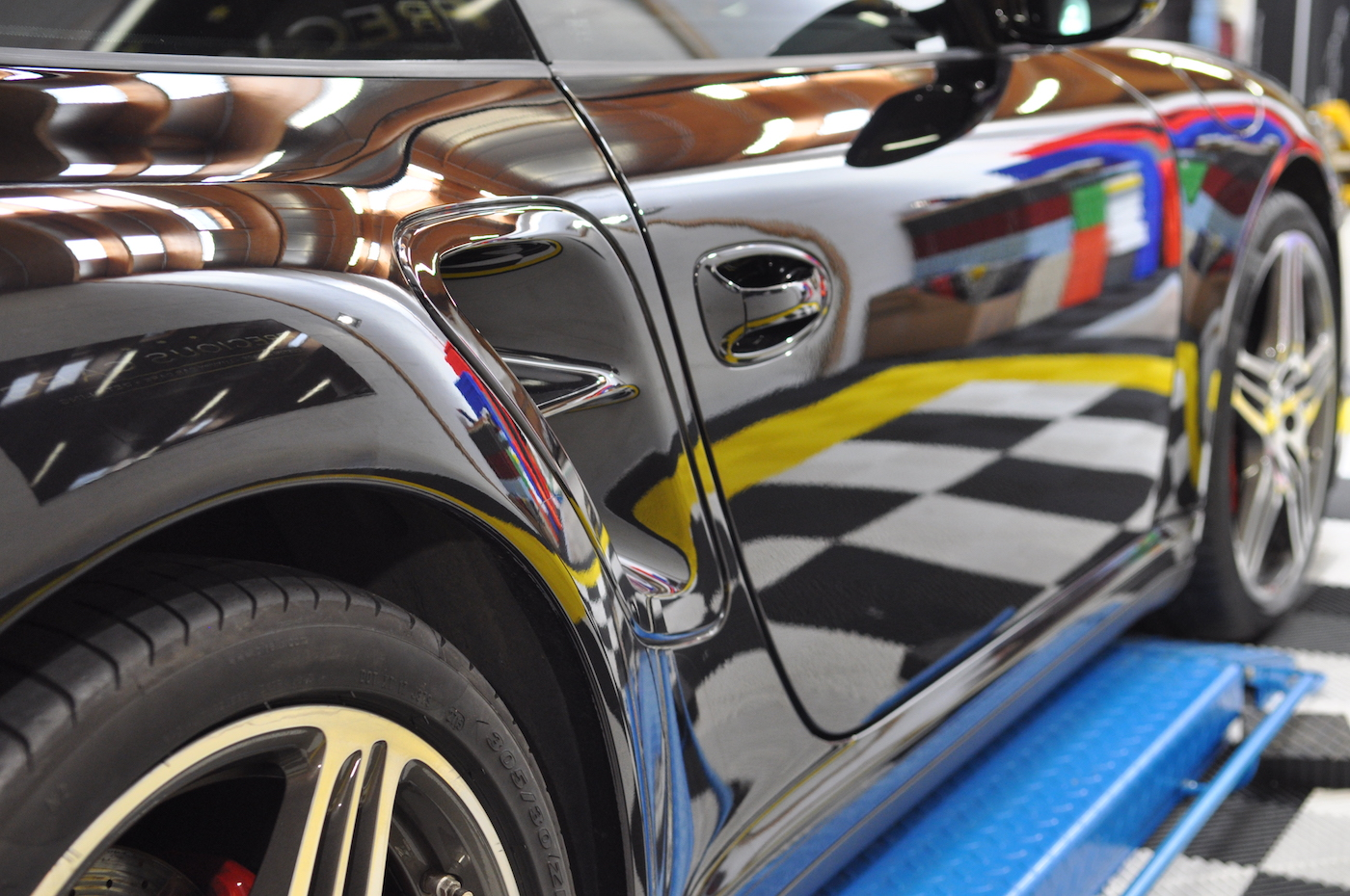 Swissvax Le Mans - Porsche 997 Turbo
