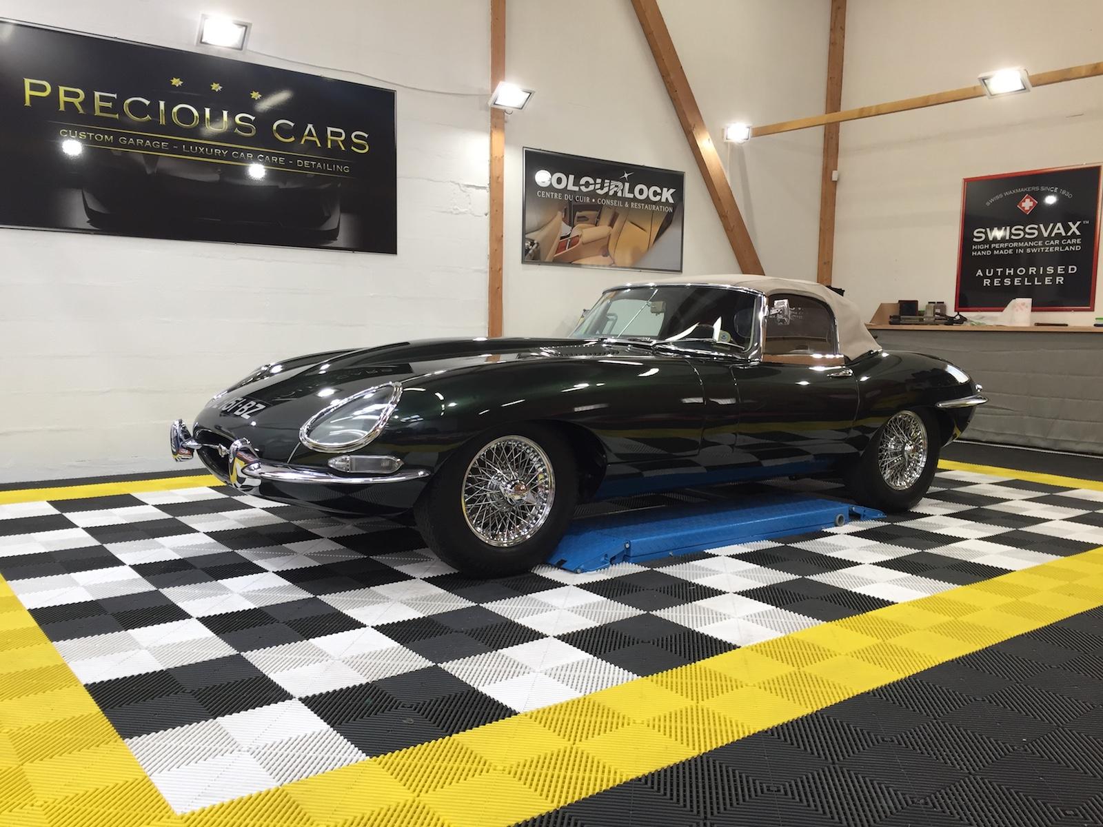 Swissvax Le Mans - Jaguar Type E