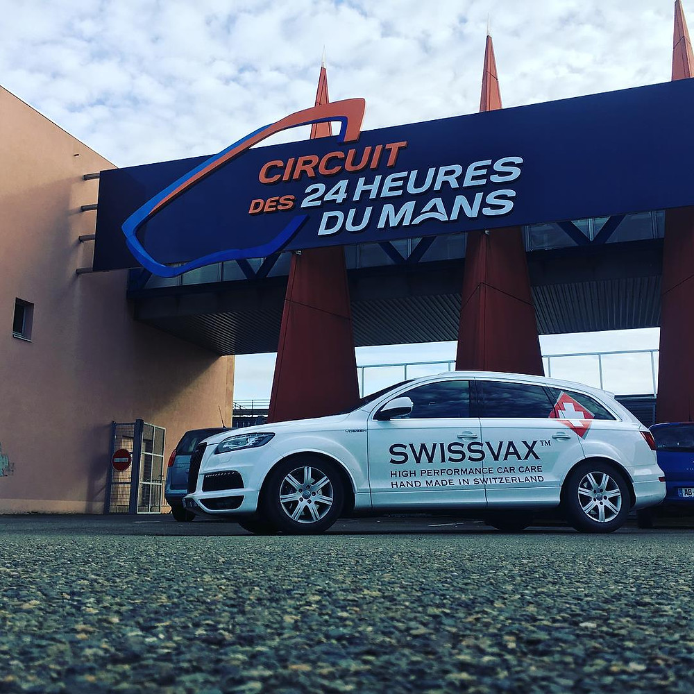 Swissvax in Le Mans for annual workshop !