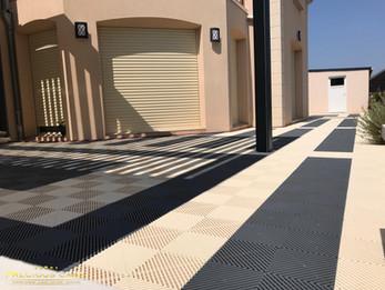 Installation terrasse Polydal