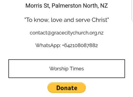 Now anyone can donate online to our church!