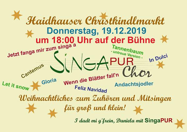 Haidhauser Christkindlmarkt-SingaPUR 201