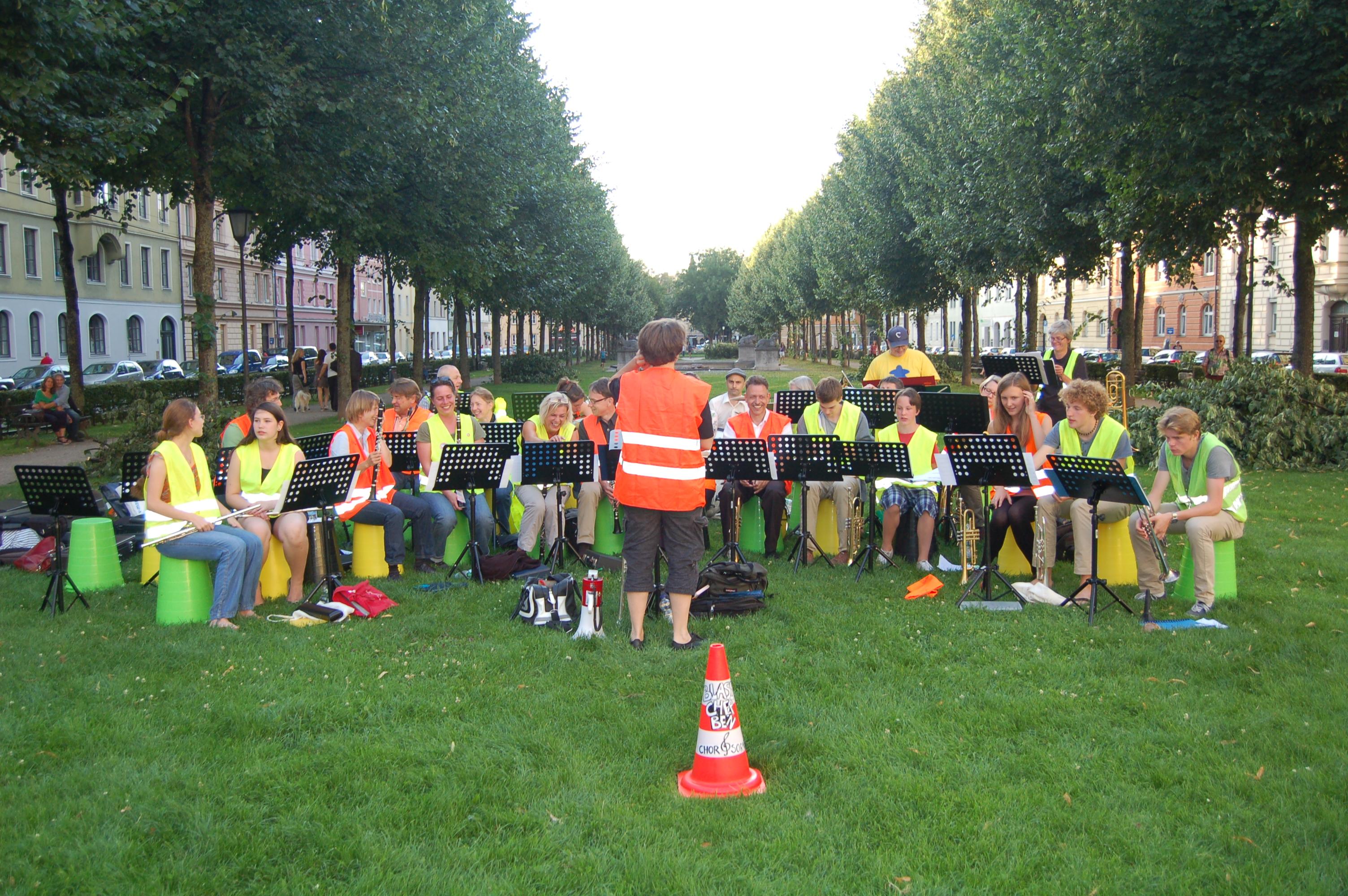 Konzert am Bordeauxplatz