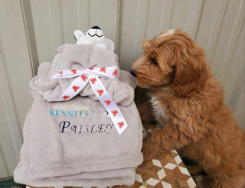 Personalized Dog Blanket/Toy