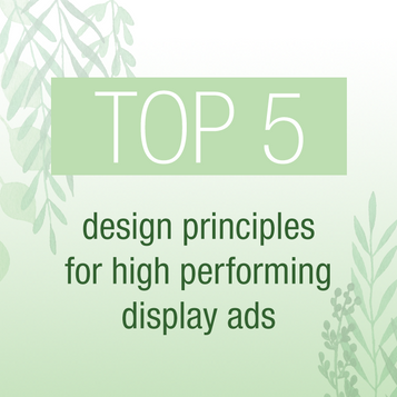 Back to basics - The less is more approach for effective display ad design