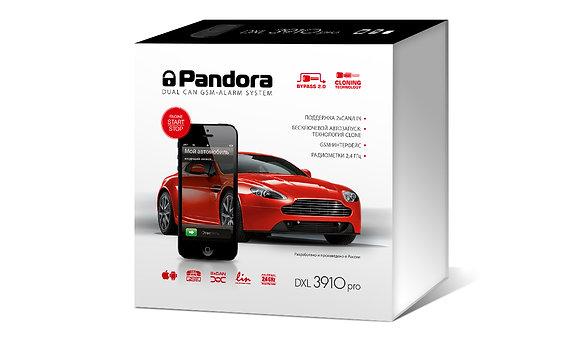 Сигнализация Pandora DXL 3910 PRO с установкой