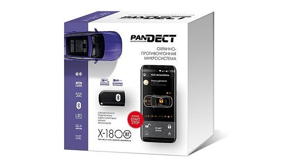 Сигнализация Pandect X-1800 BT с установкой