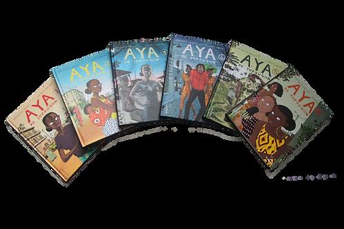 Série complète Aya de Yopougon