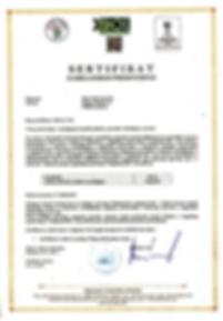 Sumske pecurke Organski sertifikat