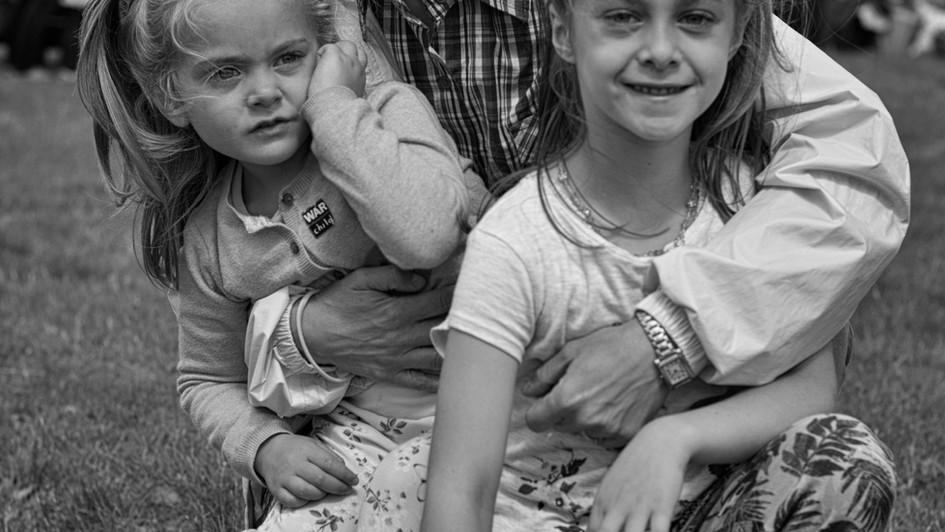 Marta with her children