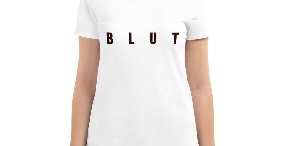 """""""Blut"""" - Women's short sleeve t-shirt"""