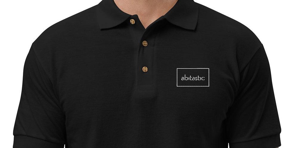 """""""Abitastic"""" - Premium Polo Shirt (Bestickt)"""