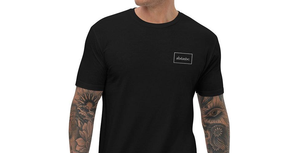 """""""Abitastic"""" - Short Sleeve T-shirt (Bestickt)"""