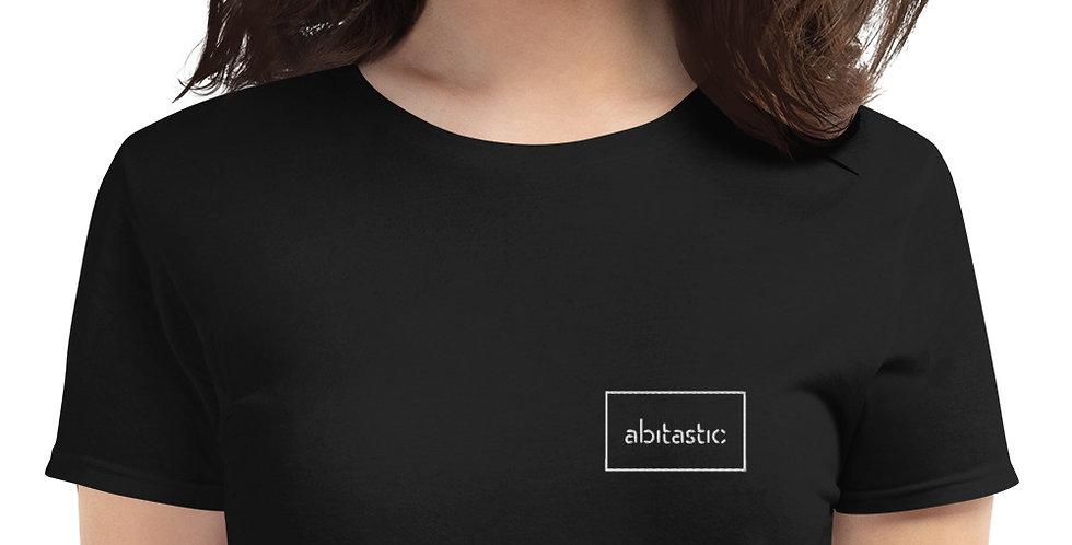 """""""Abitastic"""" - Women's short sleeve t-shirt (Bestickt)"""