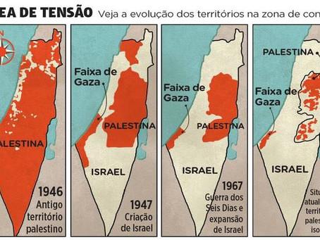 Qual a diferença entre Palestina, Israel, Faixa de Gaza e Cisjordânia