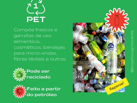 Você sabe indentificar os 7 tipos de plástico?