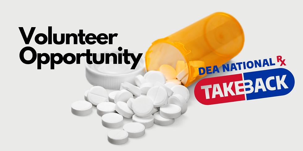 525 Foundation DEA Take Back Day Volunteer Sign Up