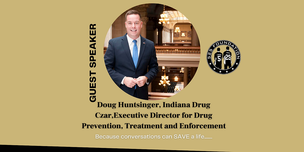 CONVERSATIONS with Doug Huntsinger, Indiana Drug Czar