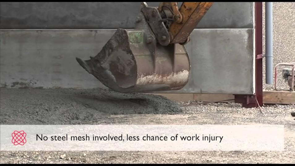 Durus Macro Synthetic Fibre for Concrete Floors