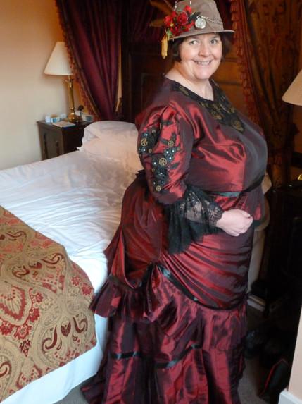 Steampunk Bustle Dress