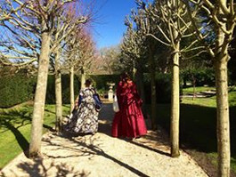 Billowing Tudor Gowns