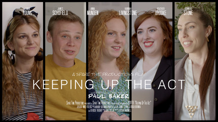 Keeping Up the Act Promo Poster