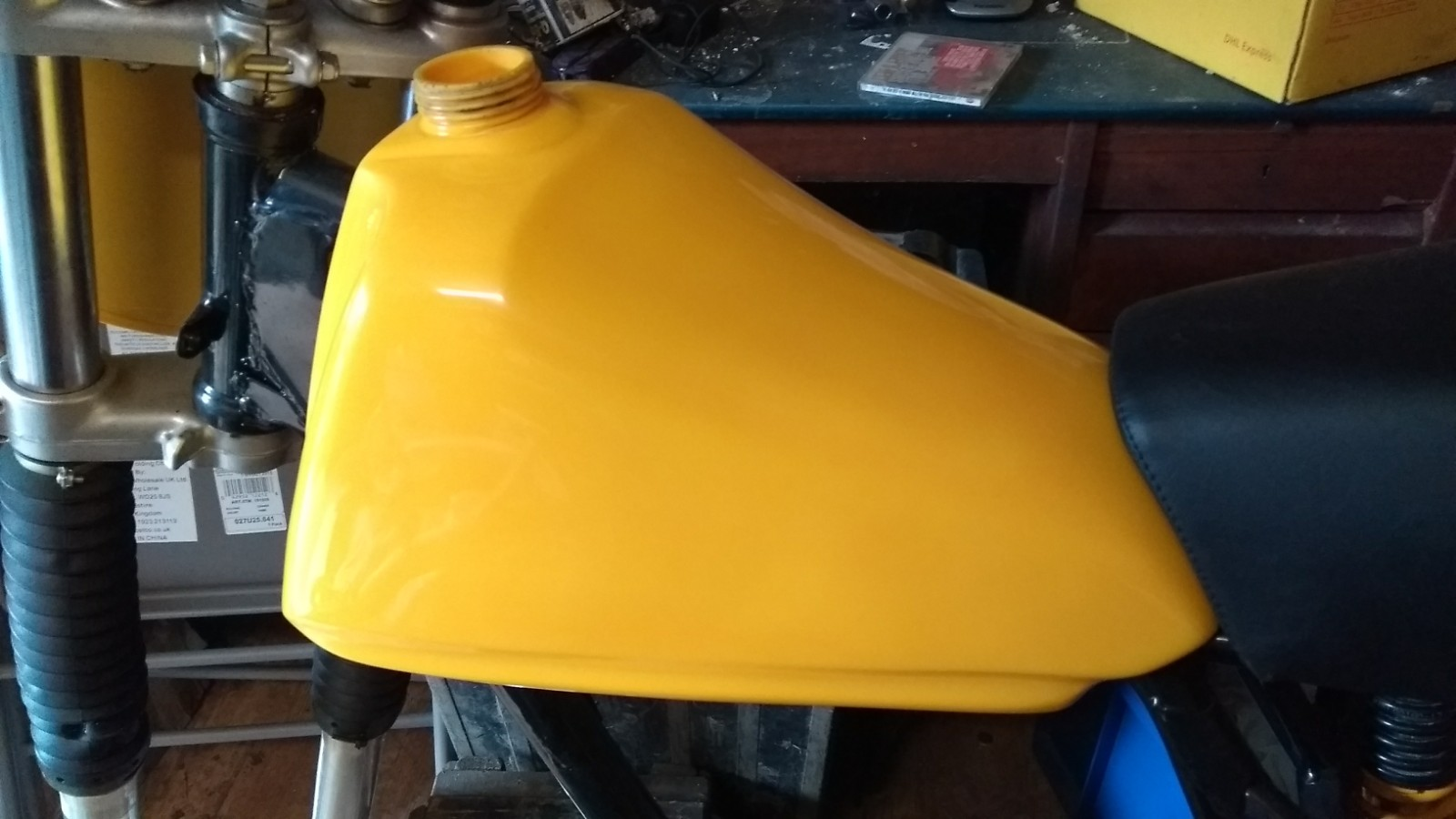 Fuel Tank refurbishment