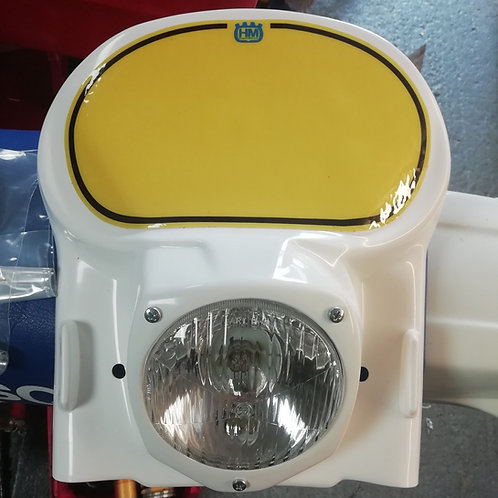 Husqvarna te xc headlight, hi quality after market with yellow number back