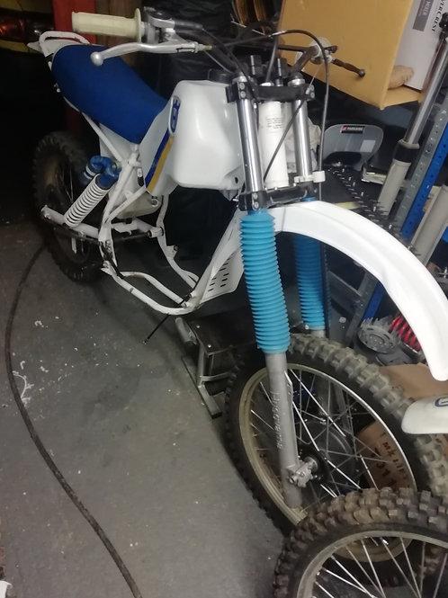 SOLD. 1984 510 tx rolling bike minus engine