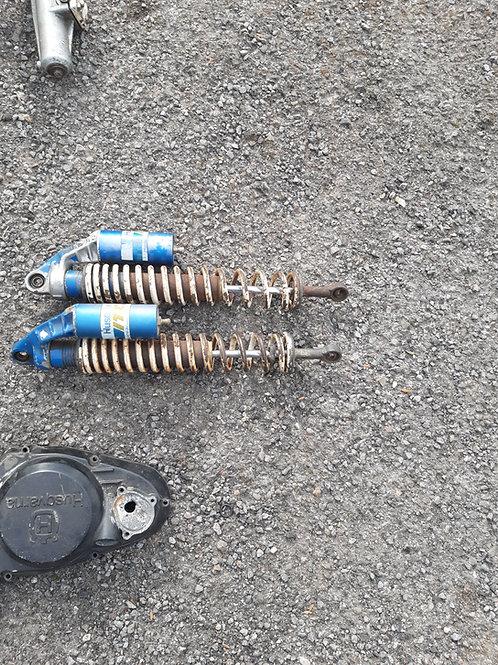 Pair of 83 itc rear shocks for rebuild
