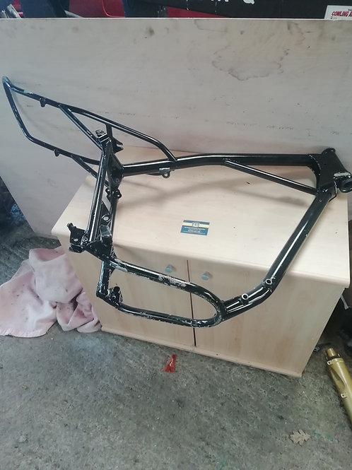 390 frame and swing arm 1978