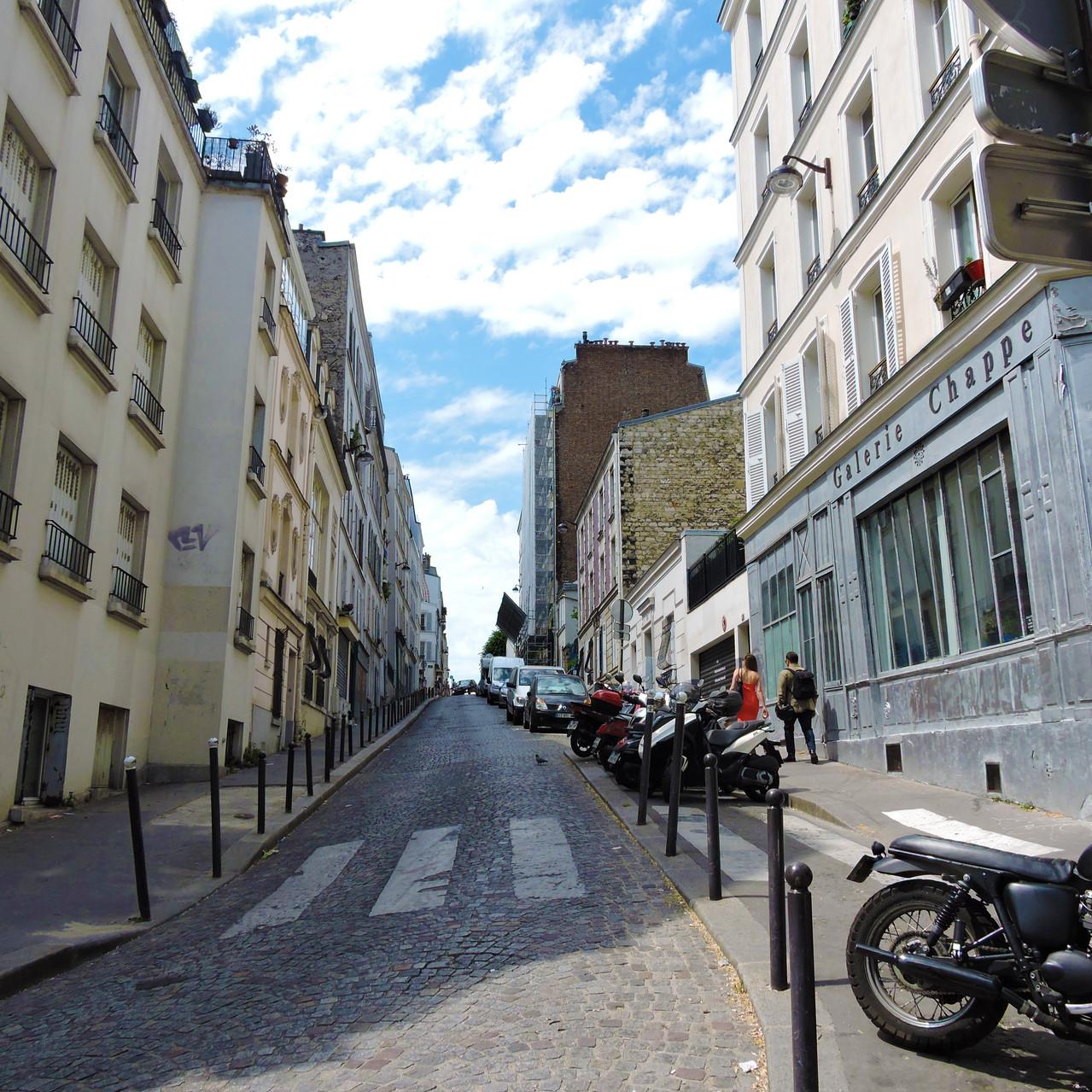 Streets of Montmarte