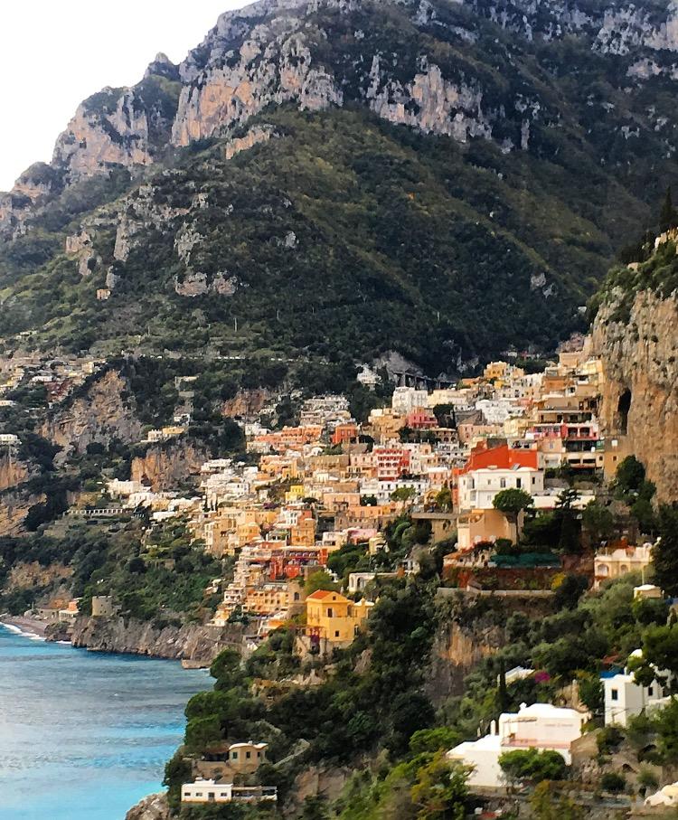 Views of Positano