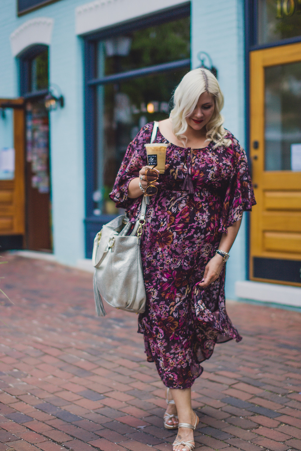 Blonde in the District | CE Photography | Current Boutique