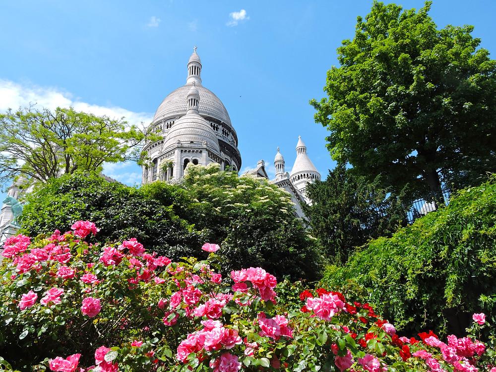 Paris Basilica Sacre-Coeur Montmartre