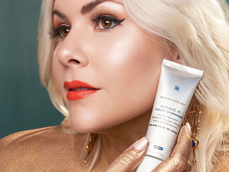 The Glow Up is Real with SkinCeuticals Glycolic 10 Renew Overnight