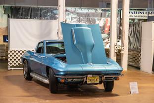 1965 Chevrolet Corvette Sting Ray Coupe.