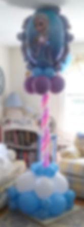 Elsa Balloon Column