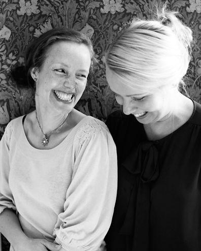 Sara Ask och Lisa Bjärbo, författare till Mera vego och Ännu mera vego
